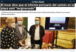 """El INCAR dice que el informe portuario del carbón en la playa está """"tergiversado"""""""